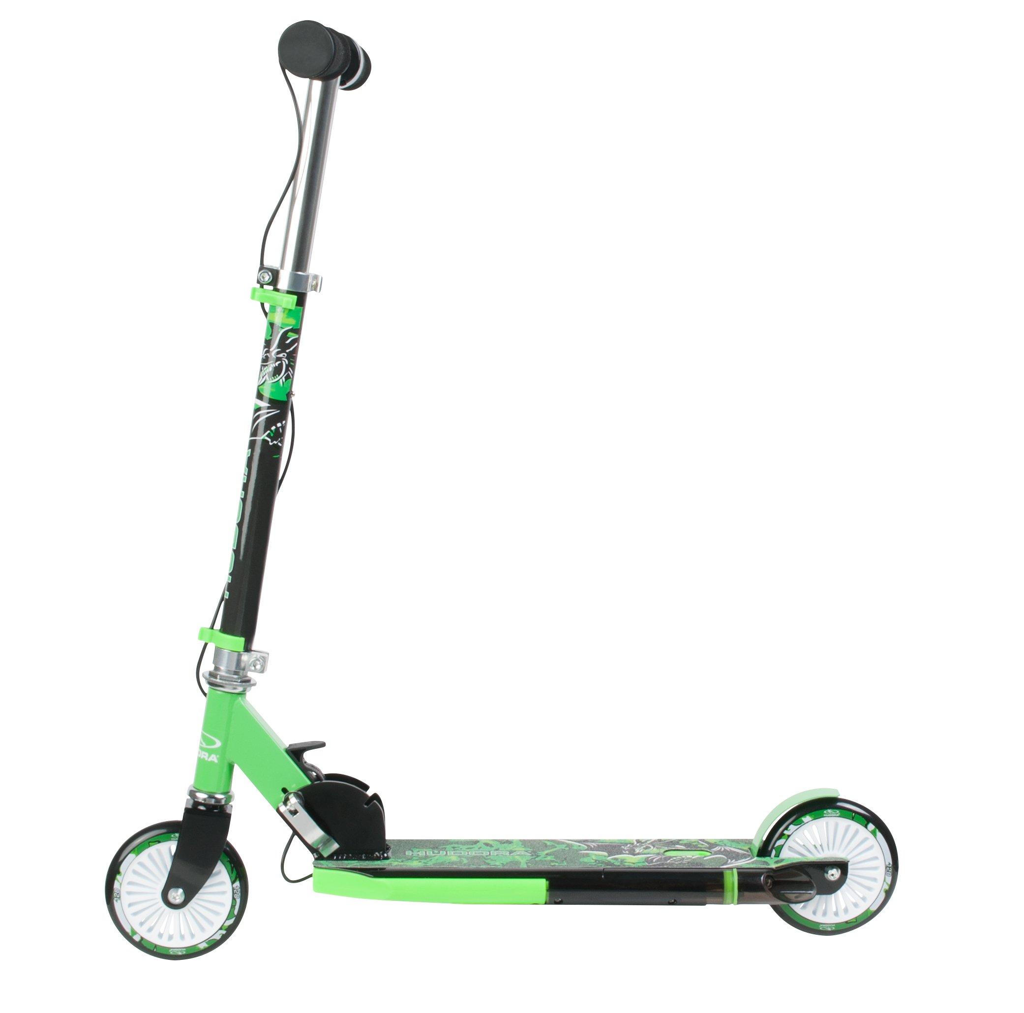 hudora street dragon gr n kinder roller scooter kinder. Black Bedroom Furniture Sets. Home Design Ideas