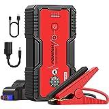 FOWAWU 18000 mAh 1500A Jump Starter,Draagbare Car Jump Starters(7.0L gas/5.5L dieselmotor),Auto starthulp Ultrasafe Intellige
