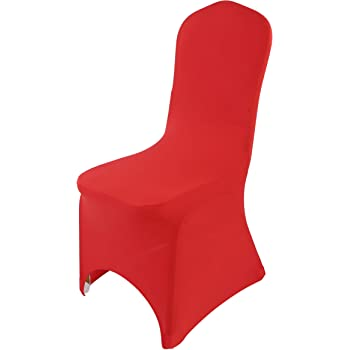 Humble New Spandex Lycra Chair Arched Flat Front Covers For Wedding Party Decorations Chair Cover