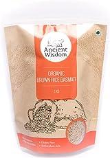 Ancient Wisdom Organic Brown Basmati Rice 1 KG