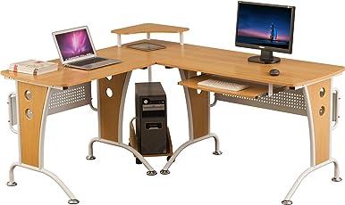 Wunderbar Piranha Großer Computerecktisch Für Das Home Office PC21