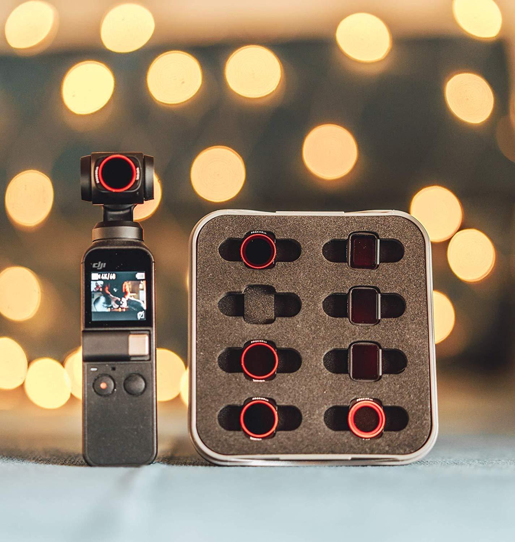 Freewell filtro de lente de c/ámara de reducci/ón de contaminaci/ón lum/ínica para DJI Osmo Pocket