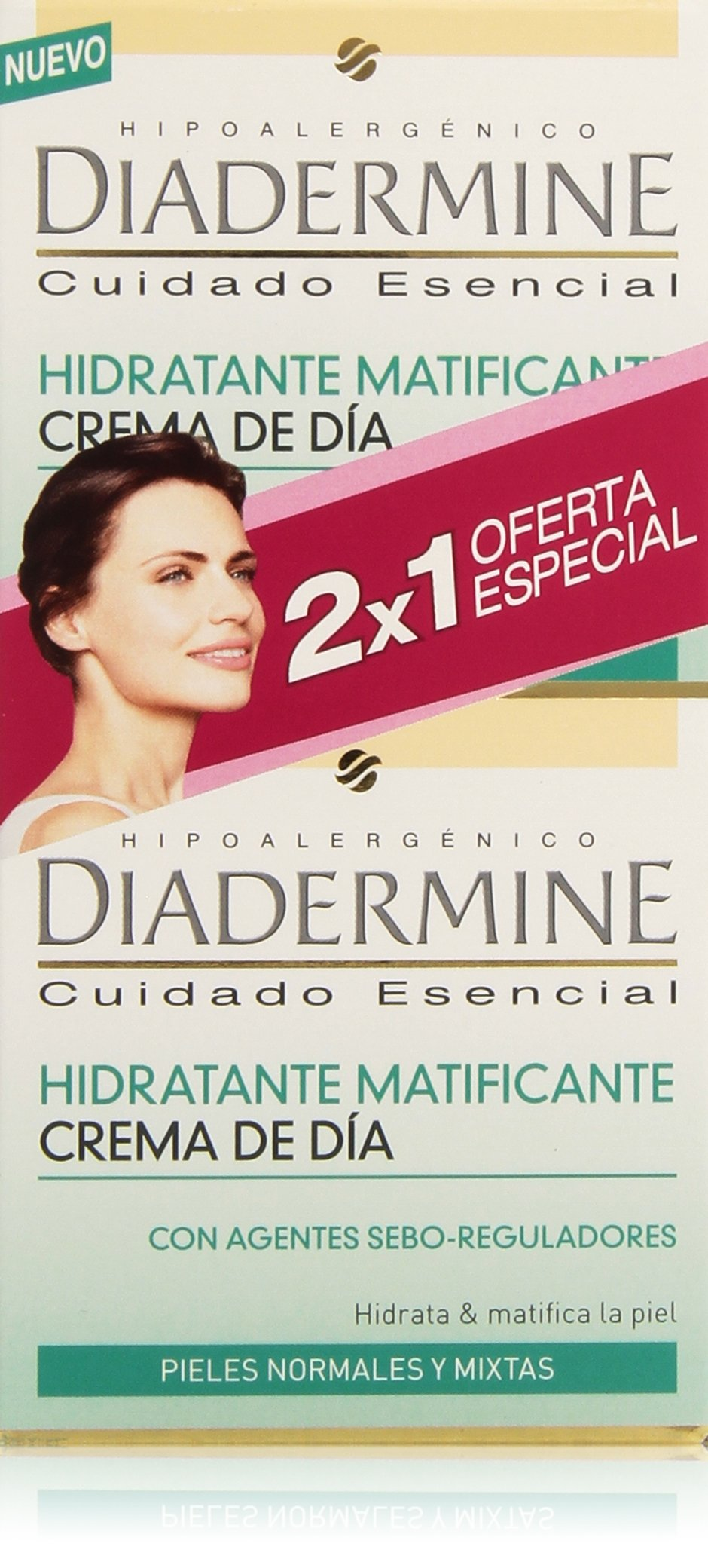 Diadermine Hidratante Crema de Dia Normal – Mixta – 50 ml