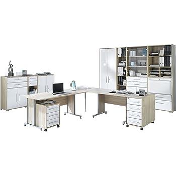 Maja-Möbel 1205 2556 Büroprogramm SYSTEM, Sonoma-Eiche-Nachbildung ...