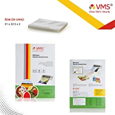 VMS Deluxe Laminating Pouch Film 125 Microns (100 Lamination Pouch) (225 x 310mm) set of 1