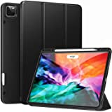 ZtotopCase for New iPad Pro 12.9 Inch 4th & 3rd Generation 2020/2018 with Pencil Holder, Full Body Protective Rugged Shockpro