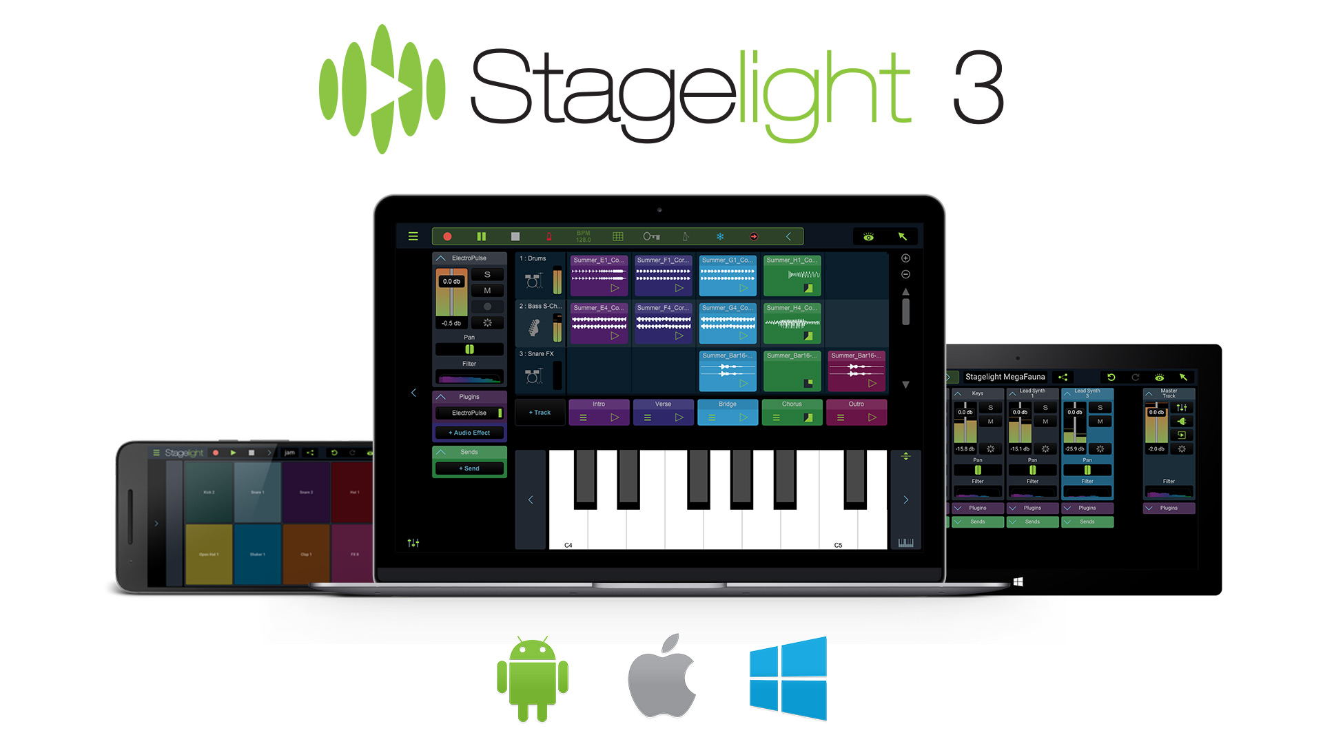 Stagelight: Hauptausgabe - Audio- und Midi DAW [Download]