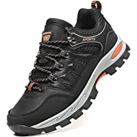 Topwolve Hiking Boots Mens Womens Walking Shoes Outdoor Lightweight Low Rise Trekking Climbing Shoes Lace-Up Anti-Slip…
