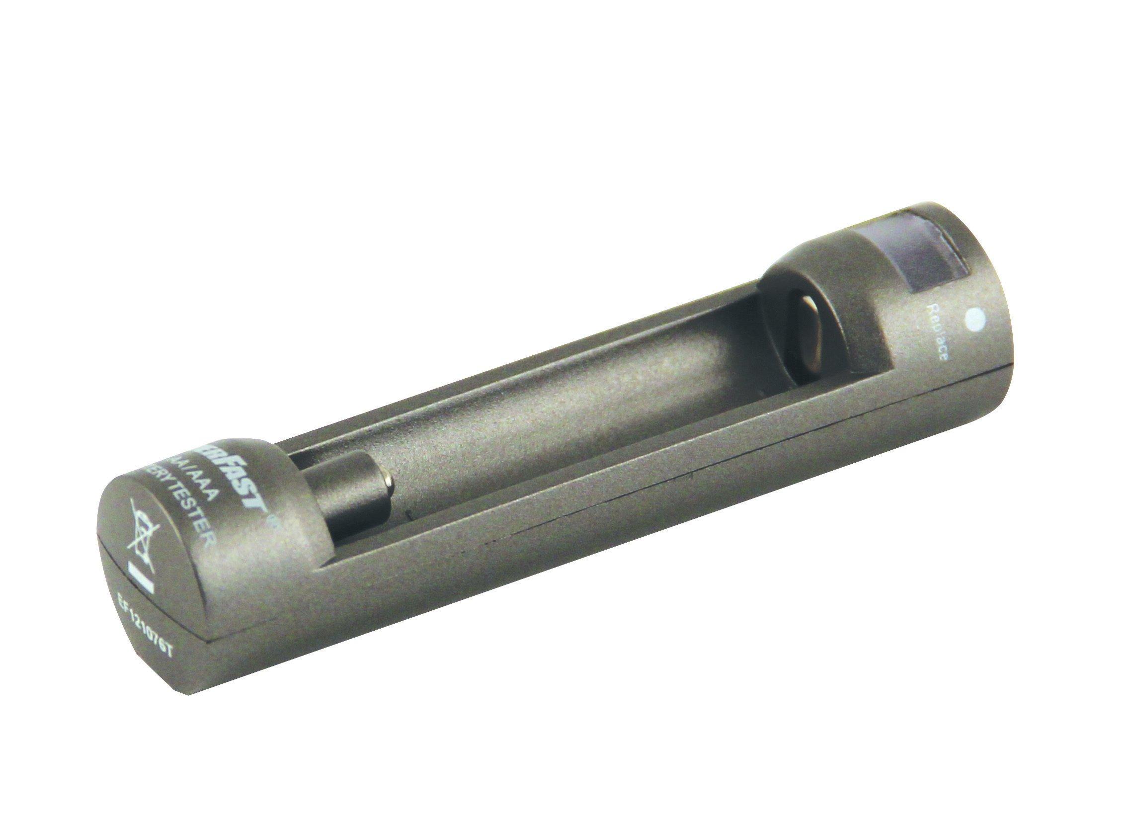 Velamp CBT04 Tester per Batterie AA e AAA, Grigio