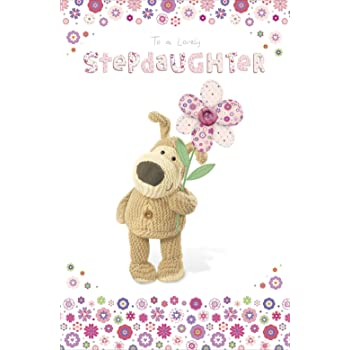 Boofle Stepdaughter Happy Birthday Greeting Card Cute Range Greetings Cards