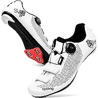 JINKUNL Men Cycling Shoes Women Peloton Shoes Road Bike Shoes Mountain Riding Shoes Spin Shoestring Bicycle Shoes…