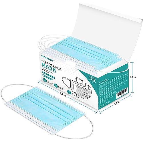 50 Pezzi Prodotti Contro Appannamento Sporco in Meltblown Tessuto Non Tessuto nasello regolabile