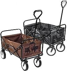 ESTEXO® Bollerwagen, Handwagen, Transportkarre, Faltbar, klappbar, Gerätewagen, Wagen