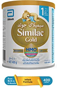 SIMILAC GOLD 1 HMO   INFANT FORMULA MILK FOR 0-6 MONTHS - 400G