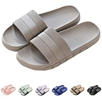 Chaussons Sandales Pantoufles d'été antidérapantes Hommes & Femme Salle de Bain Couples Chaussures de Plage…