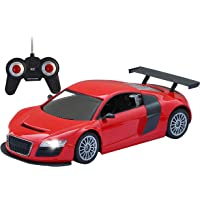 Zest 4 Toyz Big Size Rechargeable Remote Controlled 4 Channel Radio Control 1:18 Racing Sports Car, Assorted Colors