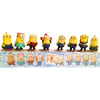 Despicable Me Minions The Minions Display Miniature Toy Figures 8 pcs