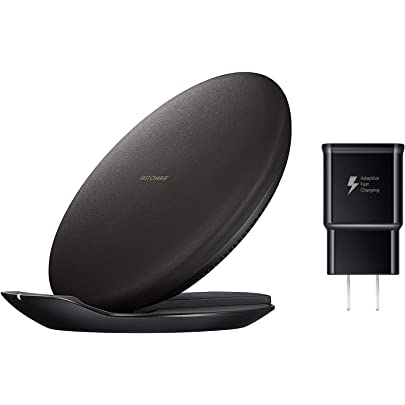 Samsung Qi Certified Fast Charge Wireless Charging Convertible Stand/Pad   US Version   Black   EP PG950TBEGUS
