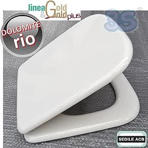 Sedile Wc Dolomite Rio.Sedile Compatibile Con Rio Ceramica Dolomite Prodotto Non Originale Marca Acb Ercos Linea Gold Amazon It Fai Da Te