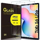 IVSO Templado Protector para Samsung Galaxy Tab S6 Lite, Premium Cristal de Pantalla de Vidrio Templado para Samsung Galaxy T