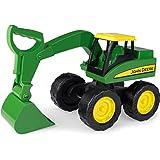 "TOMY Bagger ""John Deere Big Scoop"" in grün - stabiler & robuster Kinderspielzeug Bagger aus Kunststoff für den Sandkasten - ab 3 Jahre"