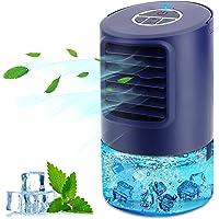 Mobile Klimageräte Mini Luftkühler, Mobile Klimaanlage Leise, Air Cooler Klimagerät Mini 4 in 1 Ventilator…