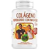 Collagene marino idrolizzato | magnesio | vitamina C e D | calcio | per articolazioni e ossa della pelle - 450 compresse AQUISANA