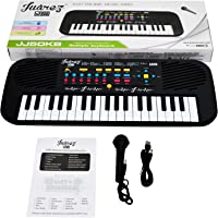 Juarez Junior JJ50KB 37 KEYS Multi-function Electronic Keyboard/Piano for Kids, Black