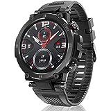 HopoFit Relojes Inteligente Hombre y Mujer,Smartwatch con Pulsómetro,Presión Arterial, Monito de Sueño,Podómetro Pulsera Relo