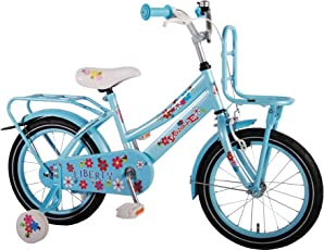 "Volare 16 16"" Zoll Kinder MÄDCHEN Fahrrad MÄDCHENFAHRRAD KINDERFAHRRAD Cruiser Rad Bike RÜCKTRITTBREMSE Liberty Eisblau 61610"