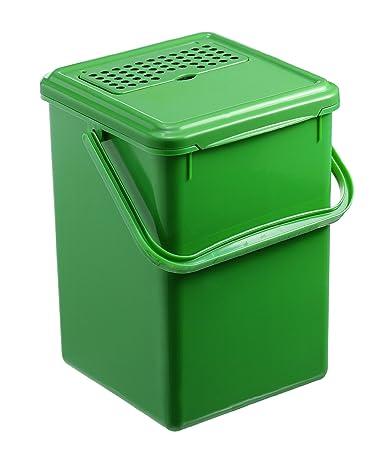 Rotho 1779905053 Komposteimer Bio Abfallbehälter, für die Küche ...