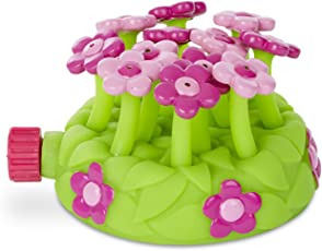 Melissa and Doug Sunny Patch Pretty Petals Sprinkler Toy, Multi Color