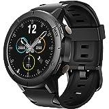Vigorun Smartwatch Orologio, Touch Screen Bluetooth Orologio Sportivo Impermeabile 5 ATM Fitness Tracker con Misuratore del B
