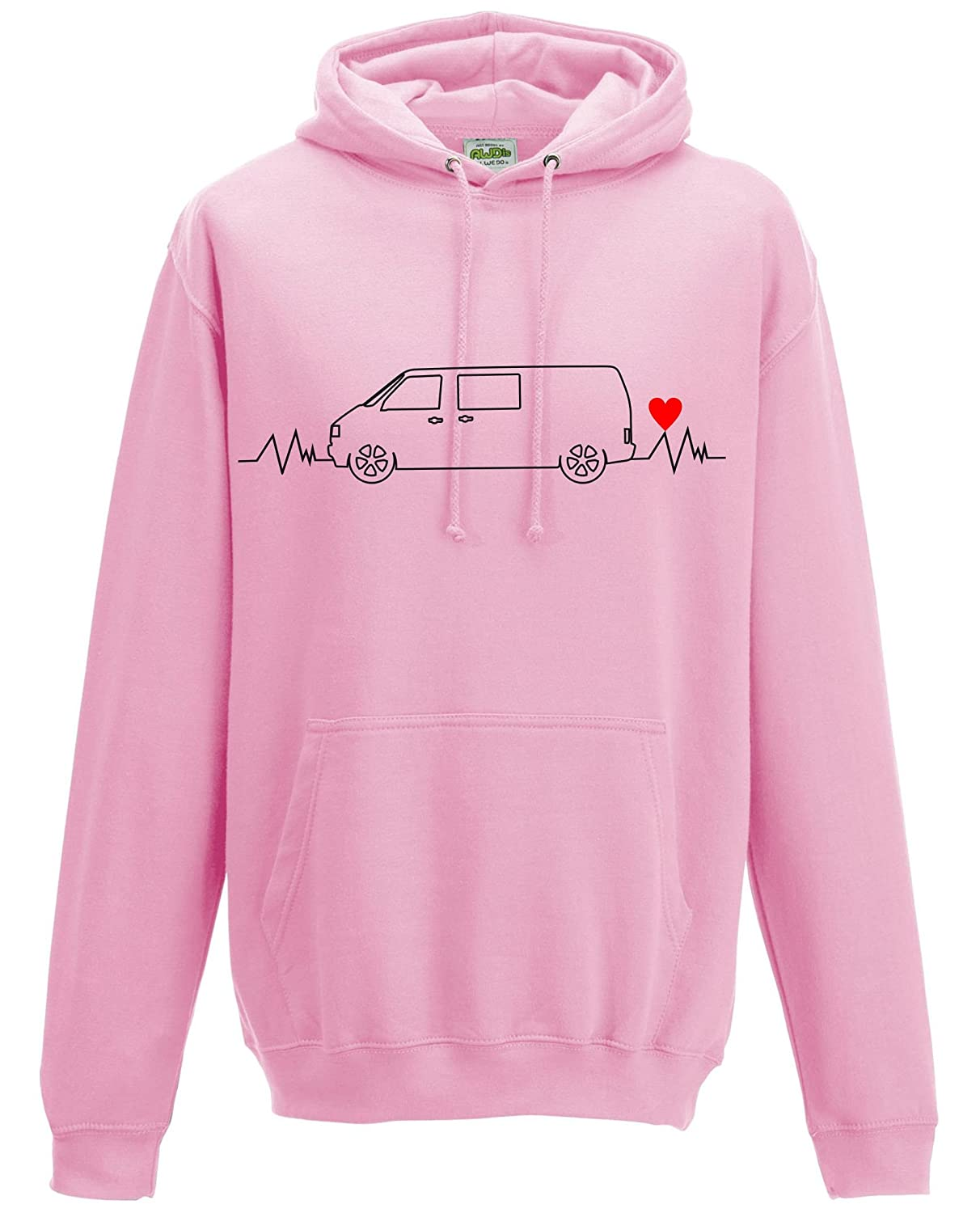 EVOLUTION OF MOTORHOME JUMPER MOTORHOME SWEATER CAMPERVAN SWEATSHIRT S-XXL
