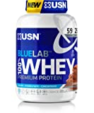 USN Blue Lab Whey Chocolate 2 kg, 100 Percent Lean Muscle Protein Powder, Ideal for Recovery & Maintenance (Packaging…