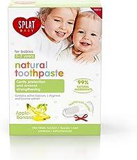 SPLAT BABY Natural Toothpaste - Apple Banana Flavor (0-3 Years)
