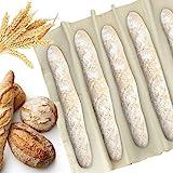 KLYNGTSK Panno di Pane da Panettiere Lievitazione Pane Telo Professionale Panno Pane di Lino Panno per Fermentazione Pane per