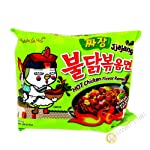 Samyang Hot Chicken Ramen Jjajang Budak Noodles (Pack of 140gm X 2)