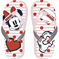 Disney Minnie Mouse Girls Flip Flops, Classic Slip On Sandals, Lightweight Garden Pool Beach Holiday Sandals, Incredible…