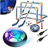 Magicoco 3in1 Hover Fußball Hockey Balls Kinder Spielzeug Set Stern Nachtlicht Interaktive Sportspiele USB Wiederaufladbare E