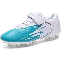 Boys Football Boots Kids FG/AG Soccer Training Shoes Running Shoes Cleats Shoes Outdoor Football Shoes Sneakers for…