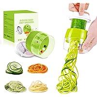 Houdian Coupe Légumes Spirale, 4 en 1 Spaghetti de Légumes Spiralizer Legume,Coupeur de légumes Coupe, Végétale…
