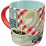 Nostalgic-Art Taza Retro Have A Coffee – Idea de Regalo para los Amantes del café, Cerámica, Divertido diseño Vintage con Fra