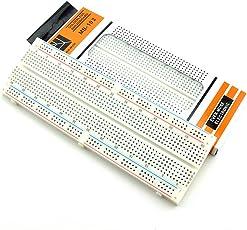 Ocamo MB-102 830 Points Breadboard Solderless PCB Bread Board Test Develop DIY kit