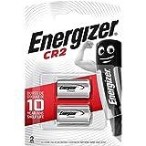 Energizer CR2 Batterie al Litio, Confezione da 2