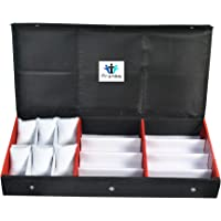 PRONIKS Sunglass goggles eyewear with Watches and Bracelet Accessories Box case cover zipper dubba 14pcs Storage…