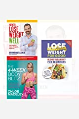 transform your body shape 4-week body blitz, how to lose weight well, blood sugar diet for beginners 3 books collection set - my complete diet, keep weight off forever, delicious low calorie, low carb Paperback