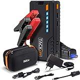 TACKLIFE T6 Booster Batterie - 800A 18000mAh Portable Jump Starter, Démarrage de Voiture ( Jusqu'à 6.5L Essence 5.5L Gazole ), LED Lampe