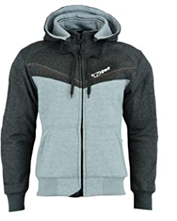 6XL 52-54 JET Motorcycle Motorbike Protective Jacket Black and Grey Hoody Armoured Soft Shell , Olive Green