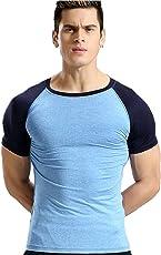 Zesteez Gym Tshirt for Men   Anti Sweat Active Wear Sports Wear Tshirts for Athletes